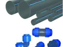 Труба полиэтиленовая для водоснабжения