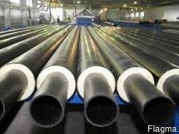 Теплоізольовані труби в асортименті