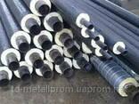 Труба стальная теплоизолированная 820/1000 мм в ПЕ оболочке - фото 1