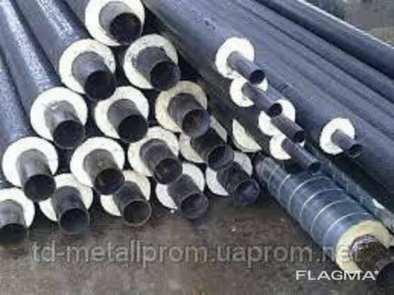 Труба стальная теплоизолированная 820/1000 мм в ПЕ оболочке