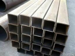 Труба профильная 100х100 мм сталь 3, 09Г2С