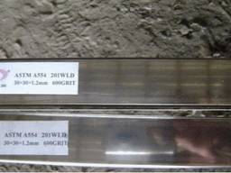 Труба нержавейка профильная 20х10х1, 5 мм. AISI 304