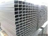 Прямоугольная стальная труба 80х40х6 сталь 20 - фото 1