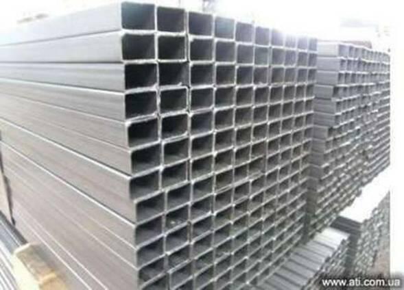 Прямоугольная стальная труба 80х40х6 сталь 20