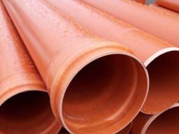 Труба ПВХ для канализации 110, 160, 200, 250, 315, 400, 500 - photo 2