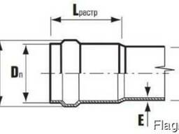 Труба ПВХ канализационная рыжая д 200 мм SN4