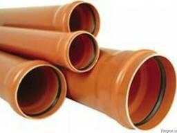 Труба ПВХ канализационная тип легкий Д. 110