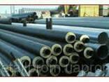 Труба стальная теплоизолированная 820/1000 мм в ПЕ оболочке - фото 2