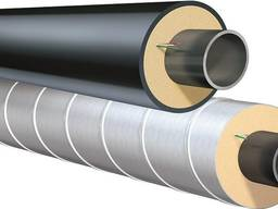 Труба сталева в Спіро оболонці 38/110 мм