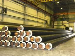 Труба стальная 1020/1200 в ПЕ и СПИРО оболочке. Доставка. Про