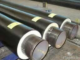 Трубы предварительно изолированные диаметром Ду 32-820