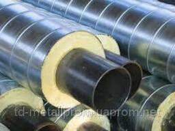 Труба сталева в Спіро оболонці 45/110 мм