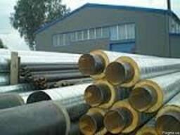 Труба стальная в СПИРО оболочке 820/1000