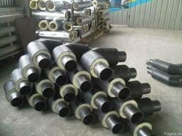 Отвод стальной теплоизолированный 325/450 для теплотрасс