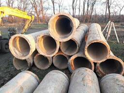 Труби бетонні, ж/б, залізобетонні, діам. 600 мм. д 5 м. б/у
