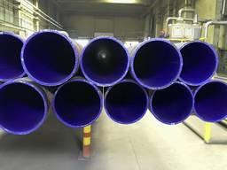 Труби емальовані з антикорозійним покриттям стрічкою!