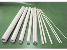 Трубка керамическая муллитокремнеземистая МКР 6, 0х4, 0 мм