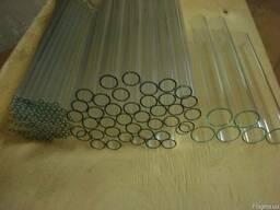 Трубка стеклянная диаметр 16мм, 26мм, 30мм и другие