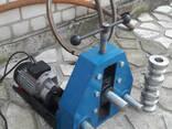 Трубогиб електро на 2.2 кВт с электроприводом - фото 2