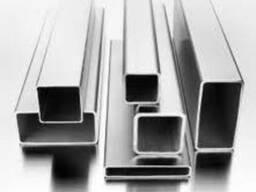 Трубы алюминиевые профильные квадратные, прямоугольные из сп
