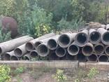 Трубы асбестовые б/у, диам 400 мм, длина 4 метра - фото 1