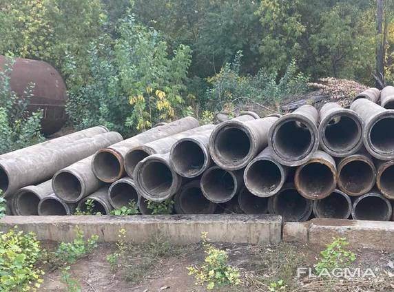 Трубы асбестовые б/у, диам 400 мм, длина 4 метра