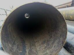 Трубы б/у востановленные больших диаметров.