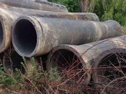 Трубы бетонные б.у. Диаметр 800 и 900 мм.