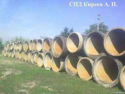 Трубы бетонные, железобетонные диаметром 1200 мм. б/у, Киев