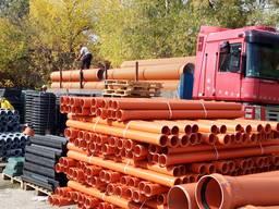 Трубы для канализации Ø160,200, 315, 400, 500, 600, 800,1000