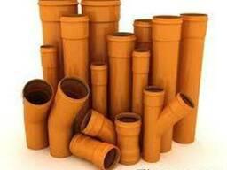 Трубы для наружной канализации ПВХ от лучшего производителя