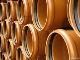 Трубы для наружной канализации с НПВХ