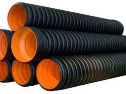 Трубы гофрированные канализационные полипропиленовые
