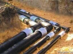 Трубы предварительно изолированные ППУ