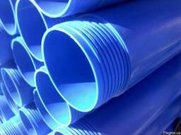 Трубы обсадные пластиковые ПВХ