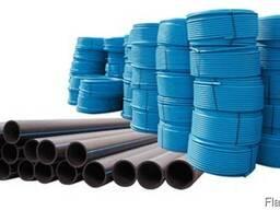 Трубы PE HD 100 для водопроводных сетей и напорной канализац