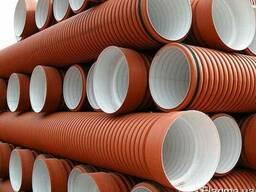 Трубы пластиковые больших диаметров 500, 600, 800, 1000