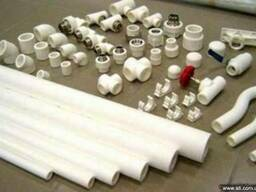 Трубы пластиковые - вода,газ,отопление, канализация