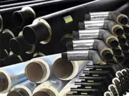 Трубы теплоизолированные всех диаметров в ПЕ/СПИРО