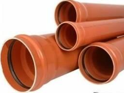 Труба канализационная наружная ПВХ