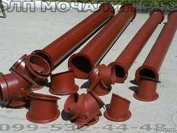 Трубы самотёчные(зернопроводы), норийные трубы