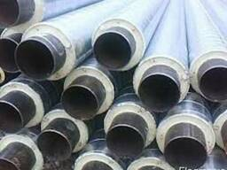 Трубы стальные в СПИРО оболочке в ассортименте