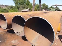 Трубы стальные диам 720х10 мм. 820х10-12 мм. 11. 5м.