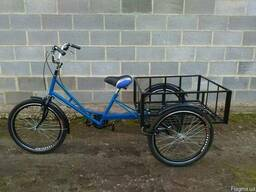 Трёхколёсный грузовой велосипед для взрослых