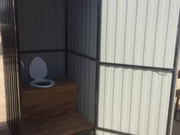 Туалет для дачи двора Дачный туалет, мобильный туалет