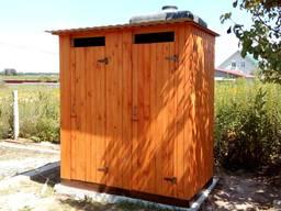Туалет и душ 2в1 летний деревянный! Качество! Доставка! Низкая цена!