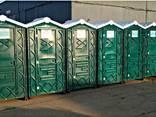 Туалетная кабина (биотуалет) зеленый - фото 1