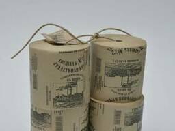 Туалетная бумага 100% целлюлоза 4шт
