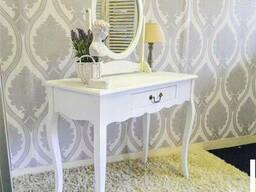 """Туалетный столик с зеркалом """"Алиса"""" из натурального дерева"""