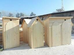 Туалеты из дерева